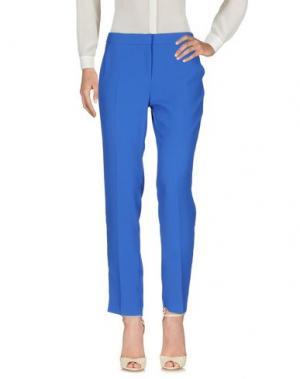 Повседневные брюки EMME by MARELLA. Цвет: синий