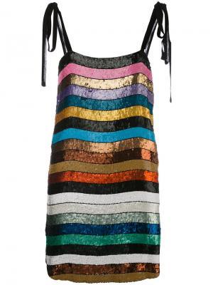 Sabrina dress Attico. Цвет: многоцветный