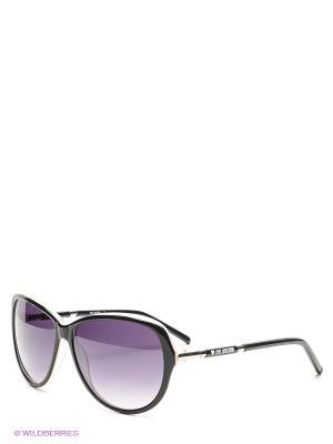 Солнцезащитные очки ML 519S 02 MOSCHINO. Цвет: черный