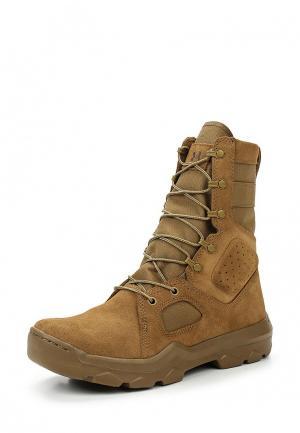 Ботинки трекинговые Under Armour. Цвет: коричневый