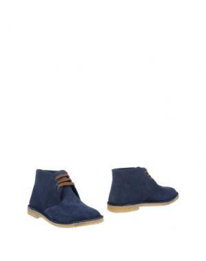 Полусапоги и высокие ботинки DANIELA FARGION. Цвет: синий