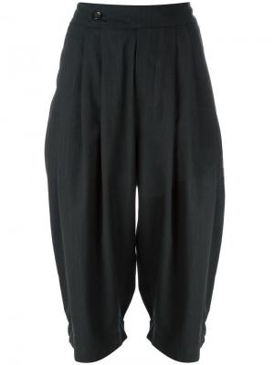 Укороченные брюки Simon Société Anonyme. Цвет: зелёный