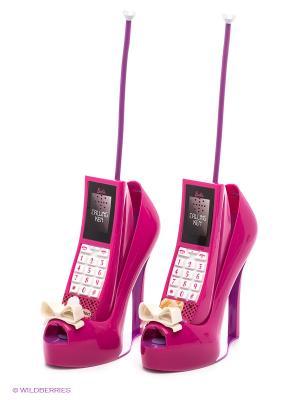 Игровой набор Телефон Barbie IMC toys. Цвет: розовый