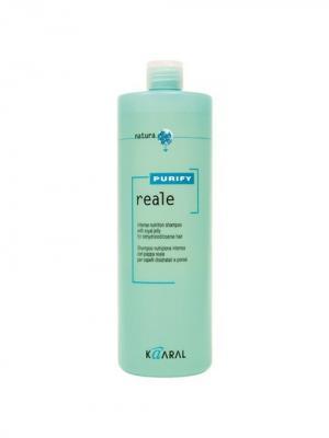 Purify Восстанавливающий шампунь для поврежденных волос Reale Shampoo 1000мл. Kaaral. Цвет: светло-зеленый