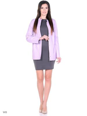 Кожаная куртка MONDIAL. Цвет: розовый