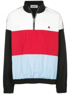 Куртка дизайна колор-блок Ambush. Цвет: чёрный