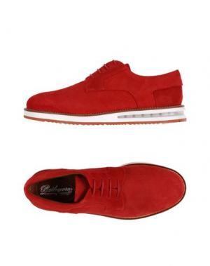 Обувь на шнурках BARLEYCORN. Цвет: красный
