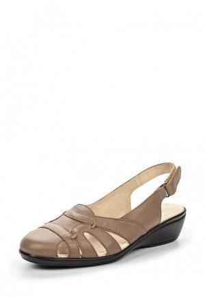 Туфли Спартак. Цвет: коричневый