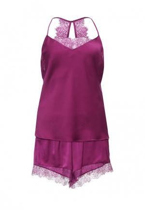 Пижама Triumph. Цвет: фиолетовый
