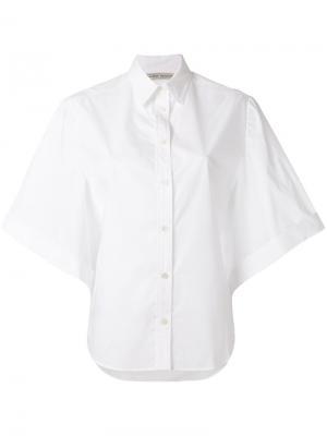 Рубашка с расклешенными рукавами Veronique Branquinho. Цвет: белый
