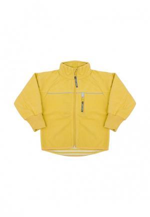 Куртка Merri Merini. Цвет: желтый