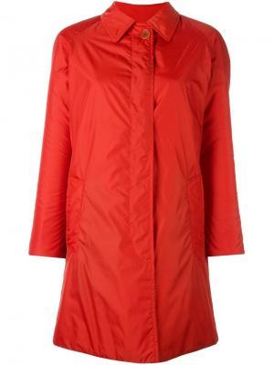 Пальто с пуговицей сверху Aspesi. Цвет: жёлтый и оранжевый