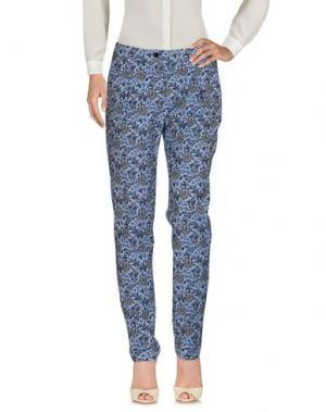 Повседневные брюки LE'S. Цвет: небесно-голубой