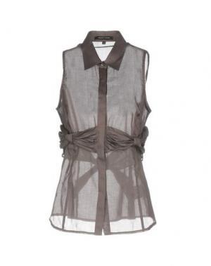 Pубашка WALTER VOULAZ. Цвет: свинцово-серый