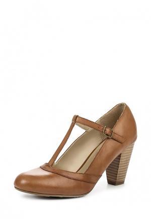 Туфли Pier One. Цвет: коричневый