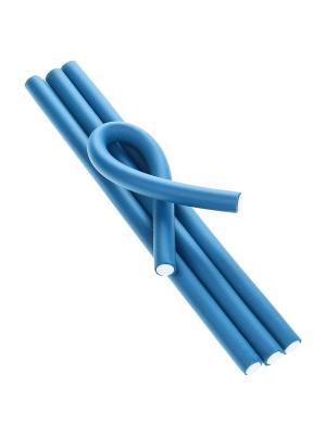 Бигуди (4 шт.) Migura. Цвет: синий