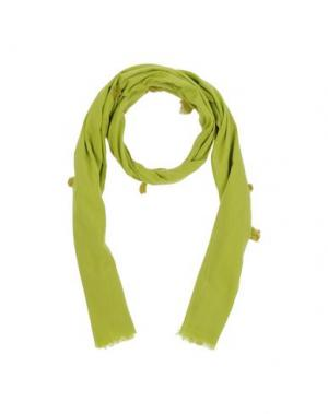 Палантин NICE THINGS BY PALOMA S.. Цвет: зеленый