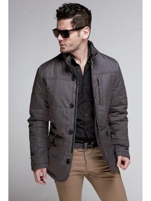 Куртка Nikolom. Цвет: серый
