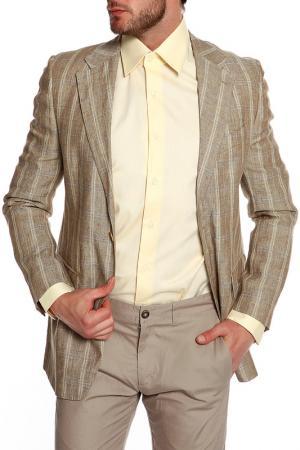 Пиджак FACIS. Цвет: бежевый, молочный