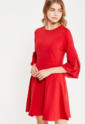 Платье Care of You. Цвет: красный
