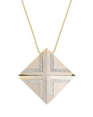 Ожерелье NOIR. Цвет: платиновый