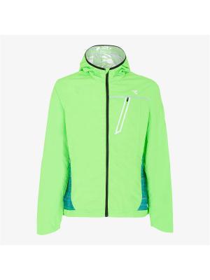 Куртка DIADORA. Цвет: зеленый