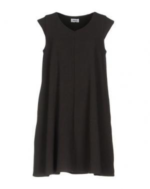 Короткое платье KATE. Цвет: стальной серый