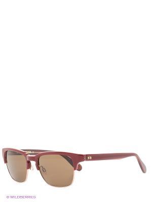 Очки солнцезащитные LM 511 02 La Martina. Цвет: бордовый, золотистый