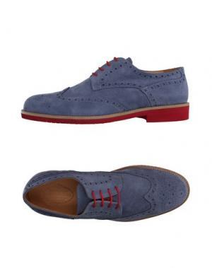 Обувь на шнурках HERMAN & SONS. Цвет: грифельно-синий