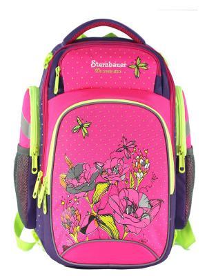 Рюкзак STERNBAUER. Цвет: фиолетовый, розовый