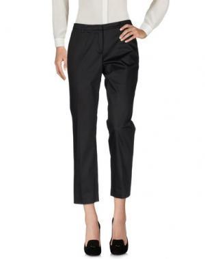 Повседневные брюки GENTE ROMA. Цвет: черный