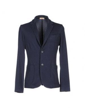 Пиджак D.R SHIRT. Цвет: грифельно-синий