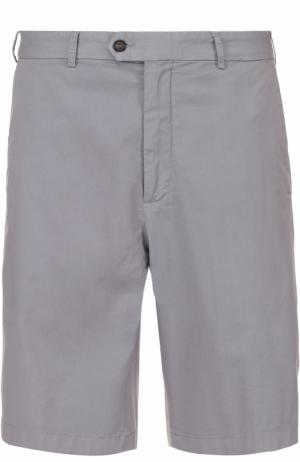 Хлопковые шорты с карманами Paul&Shark. Цвет: серый