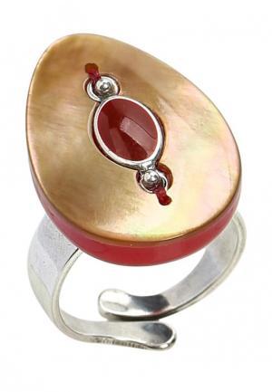 Кольцо Nature bijoux. Цвет: красный