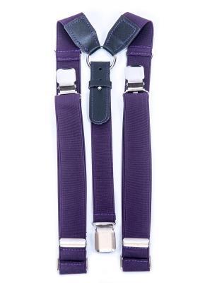 Подтяжки Stilmark. Цвет: фиолетовый