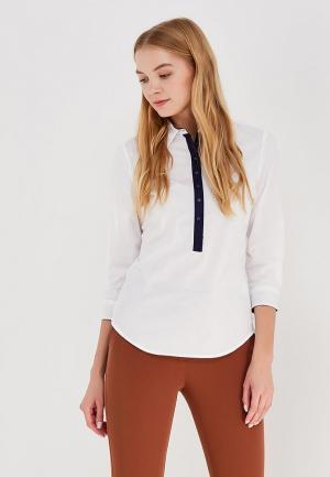 Блуза oodji. Цвет: белый