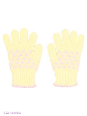 Перчатки Shapkoff. Цвет: желтый, бледно-розовый