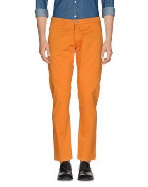 Повседневные брюки EXCLUSIVE. Цвет: оранжевый