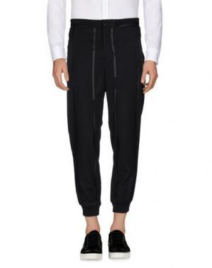 Повседневные брюки YES LONDON. Цвет: черный