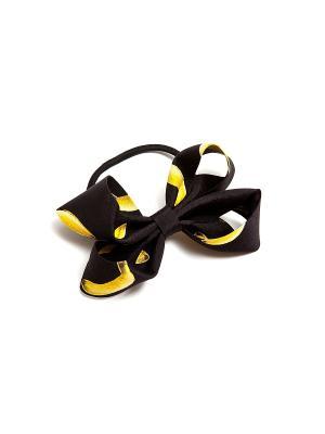 Заколка Kameo-bis. Цвет: черный, желтый