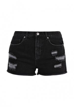 Шорты джинсовые Juicy by Couture. Цвет: черный