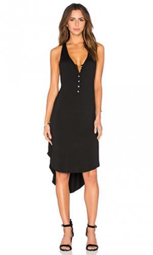 Платье lena LA Made. Цвет: черный