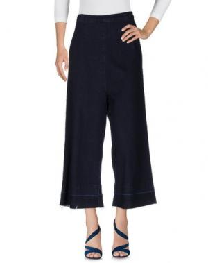 Джинсовые брюки WÅVEN. Цвет: синий