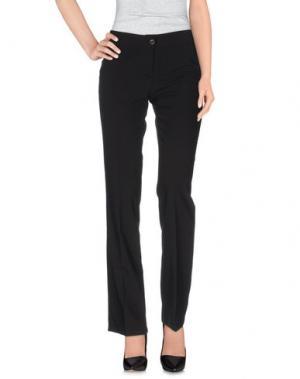 Повседневные брюки ROMEO GIGLI. Цвет: черный