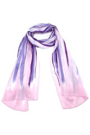 Шарф F.FRANTELLI. Цвет: розовый, фиолетовый