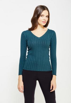 Пуловер Conso Wear. Цвет: бирюзовый