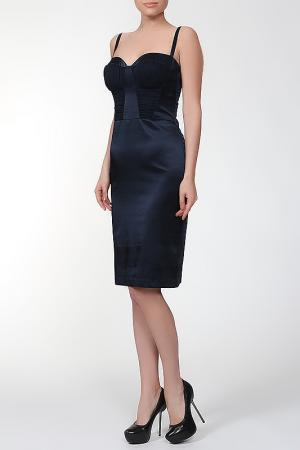 Платье Dina Bar-El. Цвет: синий