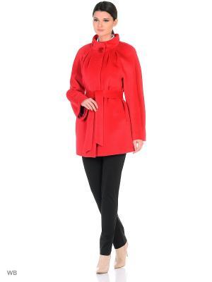 Пальто Lea Vinci. Цвет: красный