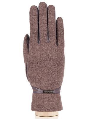 Перчатки Eleganzza. Цвет: серо-коричневый, светло-серый, темно-бежевый