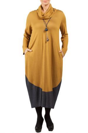 DRESS Zedd Plus. Цвет: orange, dark blue